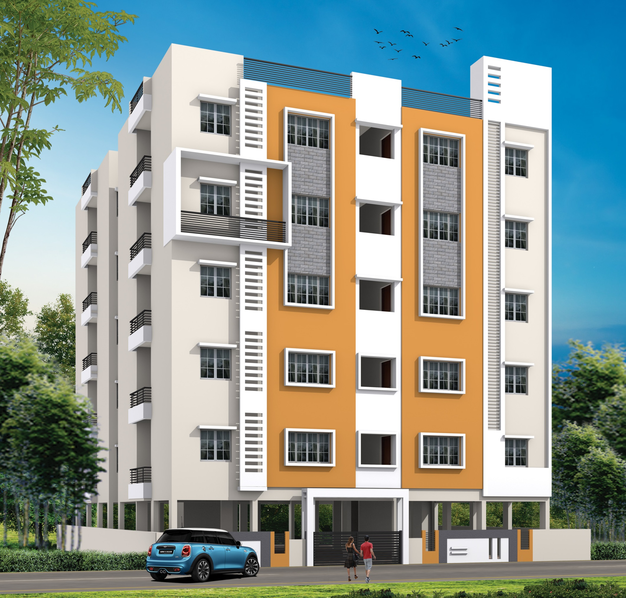 Luxury Flats for sale in HRBR Layout Bangalore